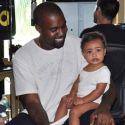 Kim Kardashian Posts Adorable Photo Of Kanye West At Work With Daughter Nori