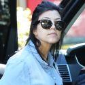 "<em><span class=""exclusive"">EXCLUSIVE PHOTOS</span></em> - Pregnant Kourtney Kardashian Grabs Breakfast By Herself"