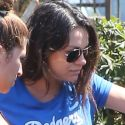 Pregnant Mila Kunis Sweats It Out With A Pal At Pilates