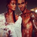 Newlyweds Adam Levine And Behati Prinsloo Shoot His New Music Covered In Blood