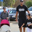 Kendra Wilkinson And Hank Baskett Bond With Their Kids After His Alleged Affair With Transsexual Model