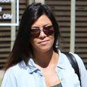 Kourtney Kardashian Keeps Close To Her Kiddies