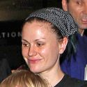 Anna Paquin And Stephen Moyer Cart Their Precious Cargo Through LAX