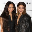 Vanessa Hudgens And Her Little Sister Stella Shine On The Red Carpet
