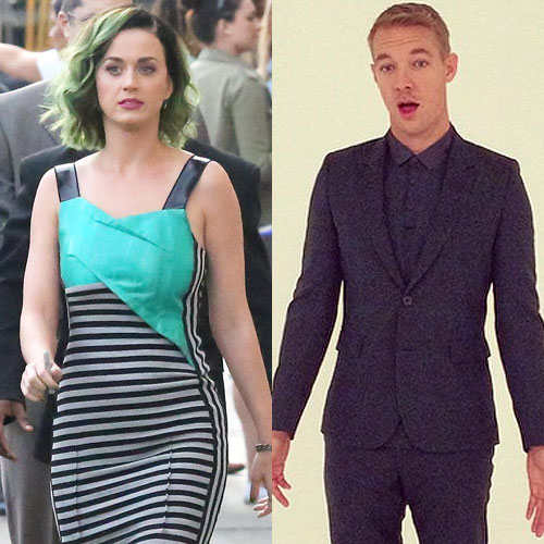 Diplo And Katy Perry Still Hookup