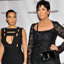 Kim Kardashian And Kris Jenner Get All Glammed Up In Sexy Little Black Dresses