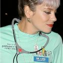 Lily Allen Dresses As Dr. Luke At Kate Hudson's Halloween Party