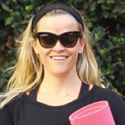 Reese Witherspoon Is A Happy Yogi