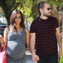 Zoe Saldana And Hubby Marco Perego Are The Cutest Parents-To-Be!