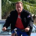 Arnold Schwarzenegger And Girlfriend Heather Milligan Go For A Ride