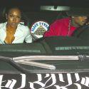 Chris Brown And Lady Love Karrueche Tran Hit The Club In His Lamborghini