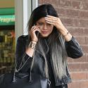 Kylie Jenner Hides From Photographers After Boyfriend Tyga's Run-In With The Police