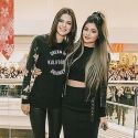 Kendall And Kylie Jenner Strike A Pose In The Windy City