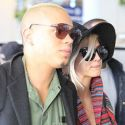Pregnant Ashlee Simpson And Evan Ross Jet Off For First New Year's Eve As Married Couple