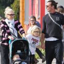 Gwen Stefani And Hubby Gavin Rossdale Brunch With Their Boys