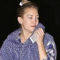 "<em><span class=""exclusive"">EXCLUSIVE PHOTOS</span></em> - Makeup-Free Kate Hudson Looks Better Than Ever After Split From Fiance Matt Bellamy"