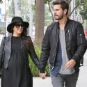 Kendall Jenner Meets Up With Kourtney Kardashian And Scott Disick For Lunch