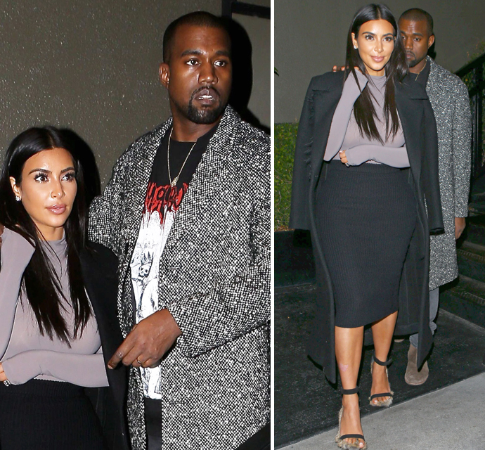 Is kanye dating kim