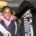 Madonna And Daughter Mercy Head To London For Christmas