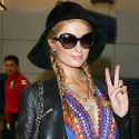 Paris Hilton Is One Groovy Baby As She Paparazzis The Paparazzi