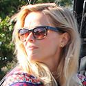 Reese Witherspoon Sports A Festive Christmas Sweater While Shopping
