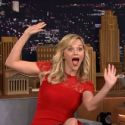 Reese Witherspoon And Jimmy Fallon Have A Jolly Good Time Botching Christmas Carols