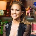 Jennifer Lopez Bares Her Cleavage And Dishes About Her Exes On <em>WWHL</em>