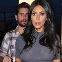 """<em><span class=""""exclusive"""">EXCLUSIVE PHOTOS</span></em> - Kim Kardashian Dines With Scott Disick After Reports Claim The Father Of Three Slept With Kendall Jenner"""