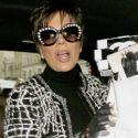 Hot Granny Kris Jenner Wears Totally See-<br>Through Pants At Paris Fashion Week