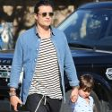 Orlando Bloom And Son Flynn Are Practically Twinning