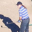 """<em><span class=""""exclusive"""">X17 EXCLUSIVE</span></em> - Bruce Jenner Hits His Balls From The Women's Tee"""