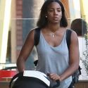 "<em><span class=""exclusive"">EXCLUSIVE PHOTOS</span></em> - Kelly Rowland And Her Precious Son Titan Enjoy A Low Key Errand Run"