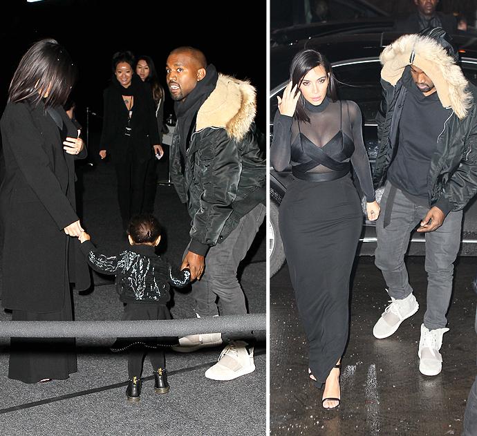 kim kardashian and kanye west do a valentine's day dinner in nyc, Ideas