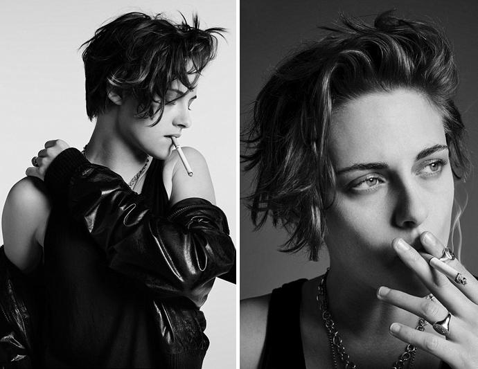 Kristen Stewart And Smoking