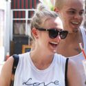 Evan Ross And Pregnant Ashlee Simpson Get Sweaty Together