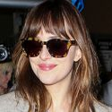 Dakota Johnson Is Bright-Eyed And Bushy-Tailed After Jetting In From The Big Apple