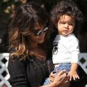 Halle Berry Takes Her Curly Haired Cutie Maceo To The Grocery Store