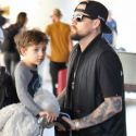 Joel Madden Is On Daddy Duty With His Nicole Richie Look-Alike Nanny