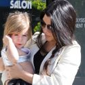 Kourtney Kardashian Takes Her Little Princess Penelope To Ballet Class
