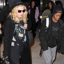 Madonna And Son David Get Out Of Town