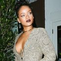 Rihanna Flashes Crazy Cleavage After Film Premiere!