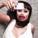 Tyga's Ex Blac Chyna Takes A Major Swipe At Kylie Jenner With Inflated Lip Pic