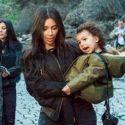 Kim And Kanye Baptize North West In Jerusalem