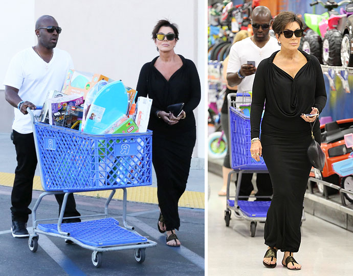 Kris jenner and corey gamble grab a mountain of easter toys for kris jenner and her boy toy corey gamble proved that they are very much still a thing as the duo shopped for gifts for jenners four grandchildren on negle Choice Image