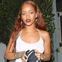 "<em><span class=""exclusive"">EXCLUSIVE PHOTOS</span></em> - Rihanna Drowns Her Sorrows In A $350 Bottle Of Wine After Cocaine Scandal"