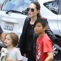 Angelina Jolie Takes Her Team Of Kids To Soccer, But Where's The Newest Addition To The Roster?