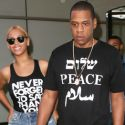 Billion Dollar Couple Beyonce And Jay Z Wear Their Thoughts On Their Tees