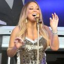 Mariah Carey Squeezes Into A Skintight Dress And Belts It Out For <em>Jimmy Kimmel Live</em>