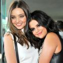 Miranda Kerr And Selena Gomez Cozy Up Despite Both Having Cozied Up To Each Others' Exes
