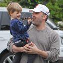 Ben Affleck Is On Daddy Duty After Jennifer Garner Leaves Him Behind
